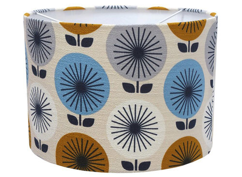 Retro-style lampshades by Lazy Susan Makes at Amazon Handmade