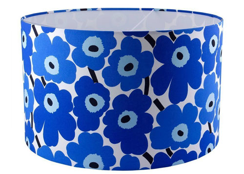 Retro-style lampshades by Lazy Susan Makes at Amazon Handmade