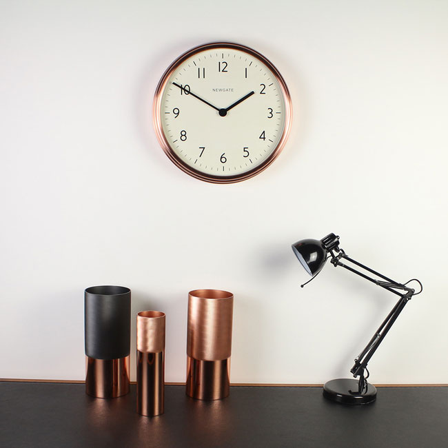 The Spy 1960s-style wall clock by Newgate