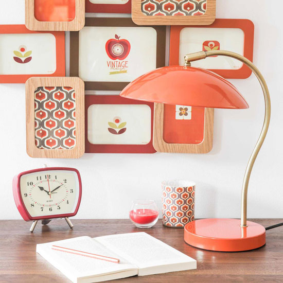 Vintage-style Mush desk lamp at Maisons du Monde