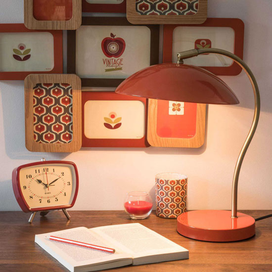 Vintage-style Mush desk lamp at Maisons du Monde