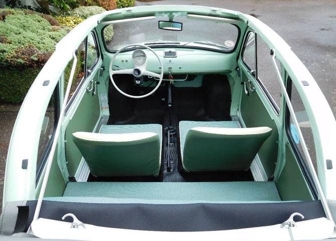 1962 Fiat 500D Trasformabile