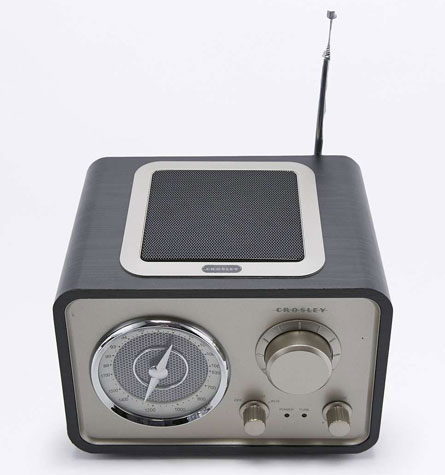 Crosley vintage-style Solo tabletop radio is exclusive to Urban Outfitters