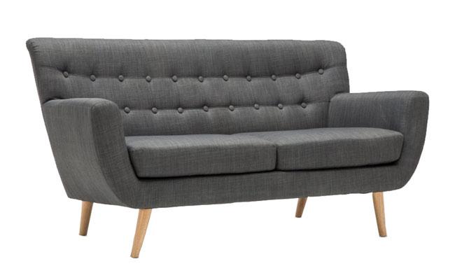 Midcentury-style Crispin sofas at Matalan