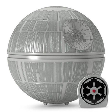 Star Wars Death Star Christmas tree topper