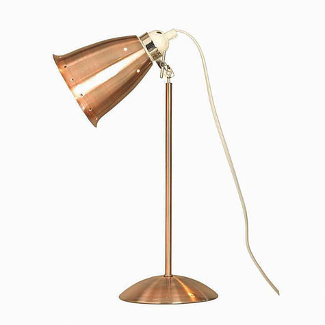 Vintage-style desk lamps by Primrose & Plum