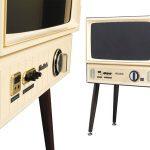 Old school viewing: Doshisha 1960s-style Vintage Taste LCD TV