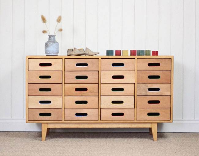 1950s James Leonard Esavian chest