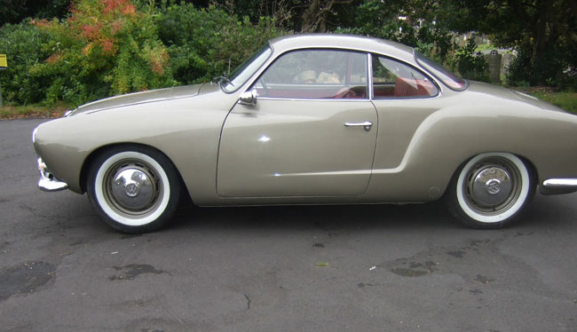 Fully restored 1966 Volkswagen Karmann Ghia