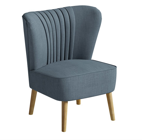 1950s-style Greenberg Cocktail Chair at Matalan
