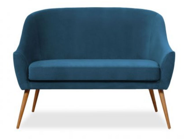 Discounted: Herman midcentury-style sofa by Hawke & Thorn