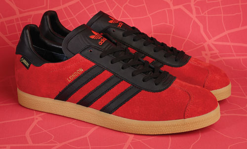 Coming soon: Adidas Originals Gazelle GTX London trainers at Size? online