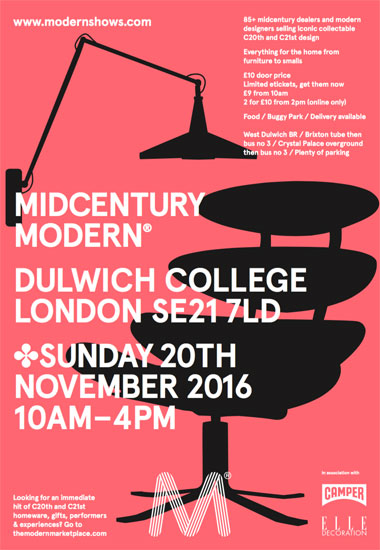 Midcentury Modern at Dulwich College, London SE21