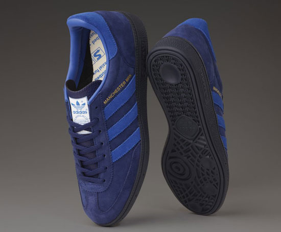 Coming soon: Adidas x Oi Polloi Manchester Marine OP Spezial trainers