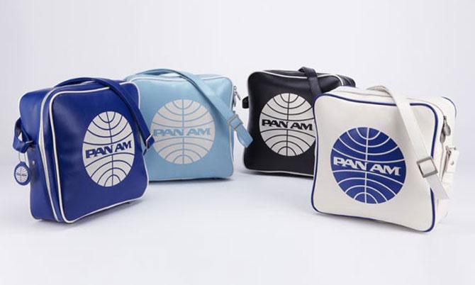 Vintage traveller: Retro-style Pan Am travel bag range