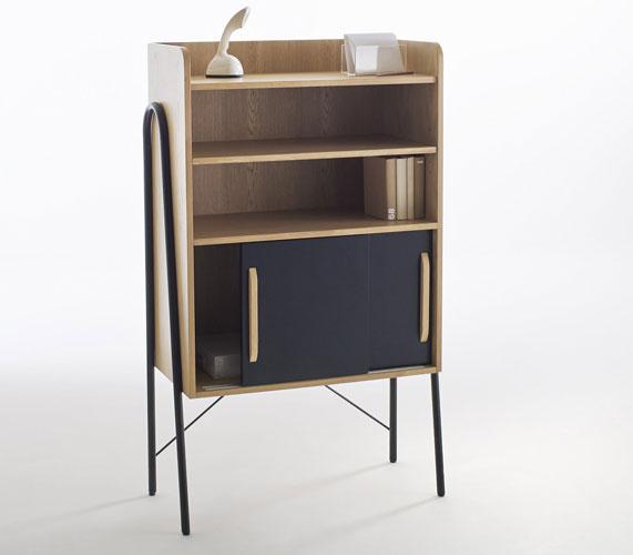 Quilda retro-style cabinet at La Redoute