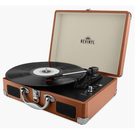 Budget turntables: Revinyl briefcase record player at Amazon