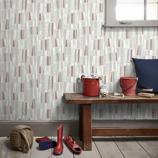 1950s-style Retro wallpaper by Borastapeter