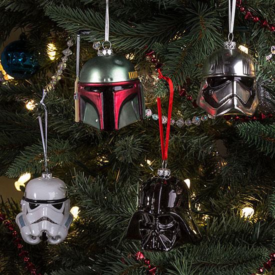 Star Wars Christmas tree decorations at ThinkGeek