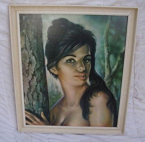 Original 1960s JH Lynch Tina print