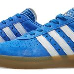 1980s Adidas 350 trainers return in blue nubuck