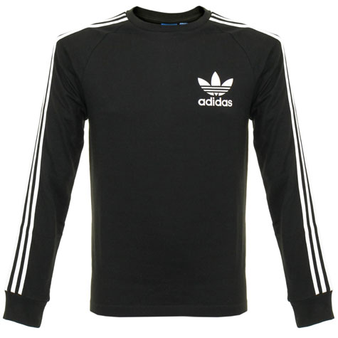 Classic Adidas Trefoil t-shirt returns in long sleeve form