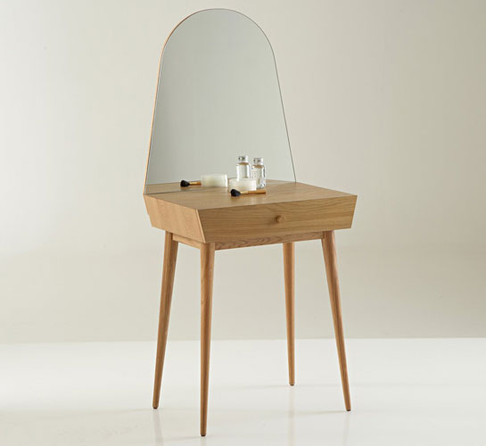 midcentury style clairoy compact dressing table at la redoute. Black Bedroom Furniture Sets. Home Design Ideas