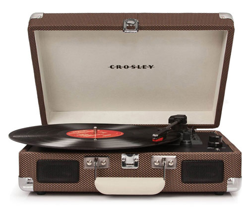 Crosley Cruiser turntable sale now on at Secret Sales