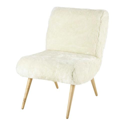 Affordable retro: Cosmos vintage armchair at Maisons Du Monde