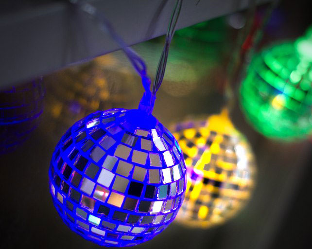 Disco Ball String Lights at Firebox