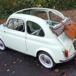 1960s Fiat 500D Trasformabile car