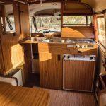 Vintage Fiat 238 camper van