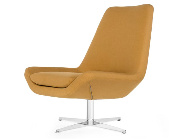 Harvey 1960s-style swivel chair at Made