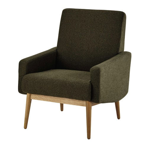 1950s style kelton armchair at maisons du monde. Black Bedroom Furniture Sets. Home Design Ideas