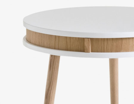 RGE midcentury-style side table discounted at Monoqi