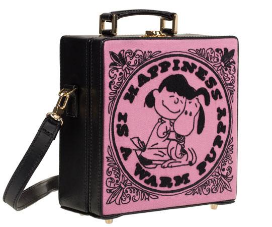 Olympia Le-tan X Peanuts bag range