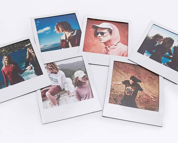 Polaframes - Polaroid-style photo frame magnets