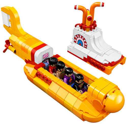 10. The Beatles Lego Yellow Submarine sets