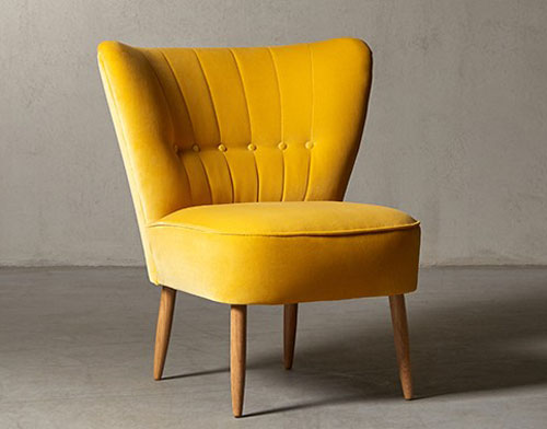 13. 1950s-style Fitz cocktail chair at Swoon Editions in a variety of colours