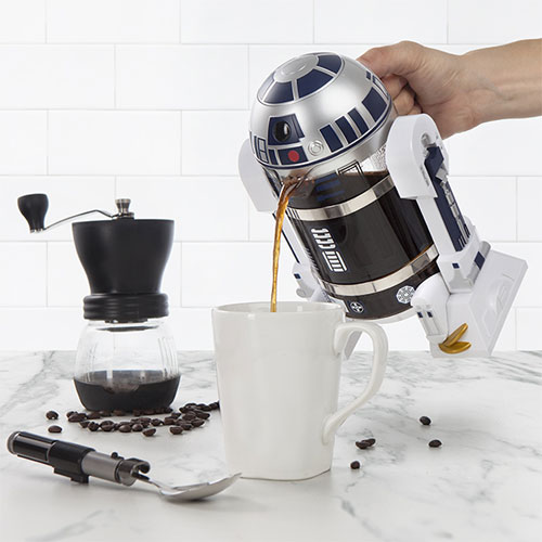 14. Star Wars kitchen: R2-D2 Coffee Press