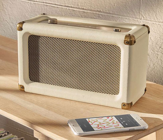 3. Crosley Harper vintage-style wireless speaker