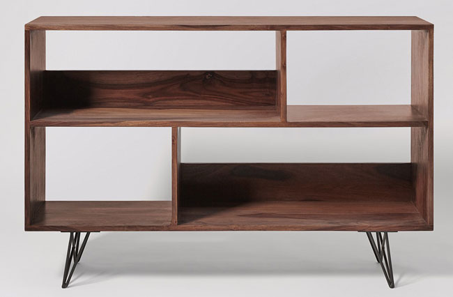 Midcentury-style Axel shelving unit at Swoon Editions