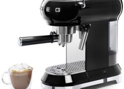 Smeg adds the ECF01 espresso machine to its retro kitchen range