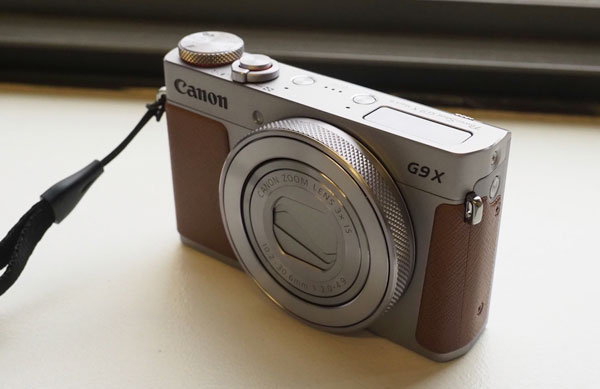 Retro Canon PowerShot G9 X Mark II compact camera unveiled