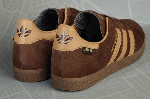 Adidas Originals Gazelle GTX Amsterdam trainers are a Size? exclusive