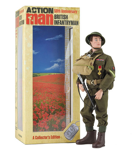 50th anniversary Action Man figures