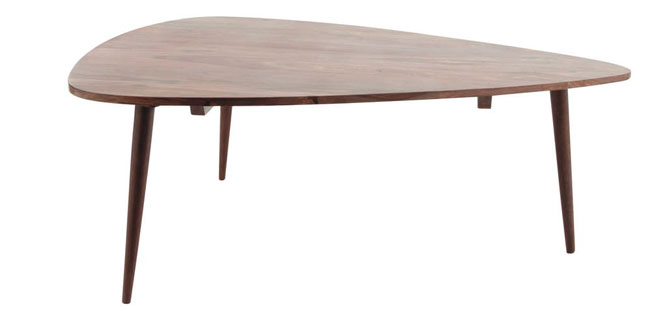Andersen midcentury-style coffee table at Maisons Du Monde