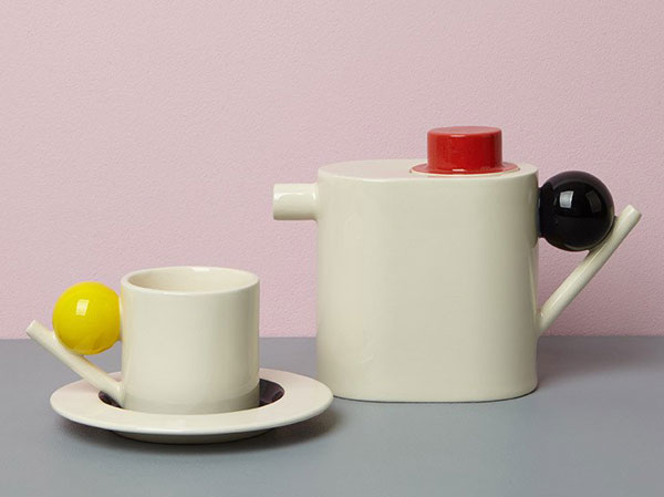 Bauhaus-inspired geometric ceramic range by Design K
