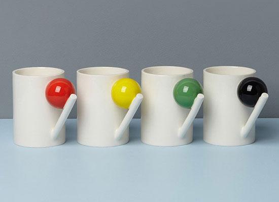 Bauhaus-inspired geometric ceramic range by Design K