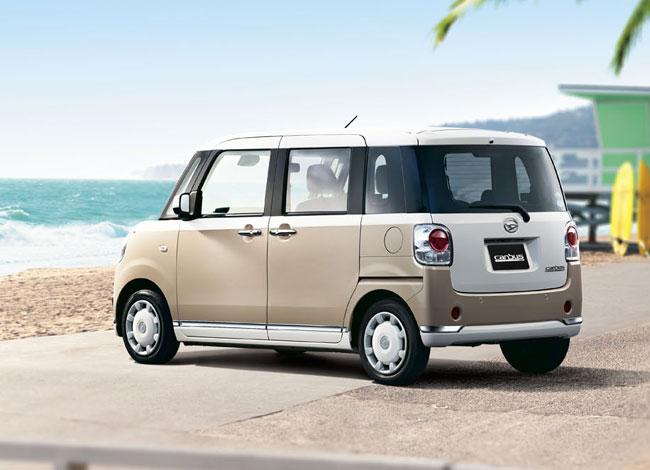Retro-style Daihatsu Move CanbusRetro-style Daihatsu Move Canbus